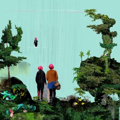 Havet, affisch av Kati Mets, Hangme.se