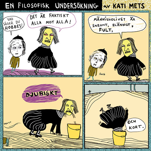 Hobbes filosofi, En filosofisk undersökning av Kati Mets