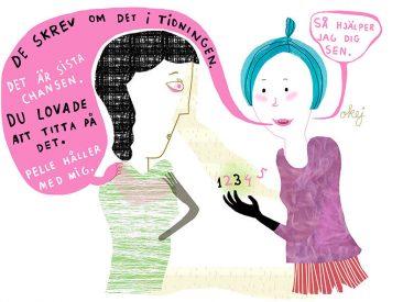 Argumentation, illustration för Vision av Kati Mets