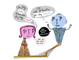 Konstig genusskillnad i löneförhandlingen för psykologer, illustration av Kati Mets