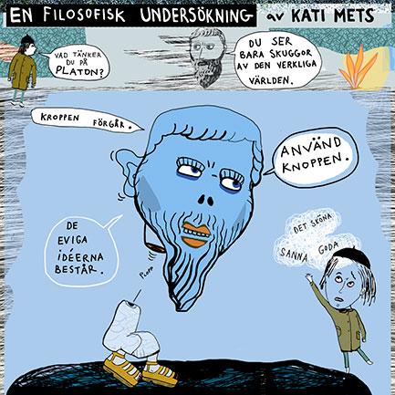 Platon, en filosofisk undersökning av Kati Mets