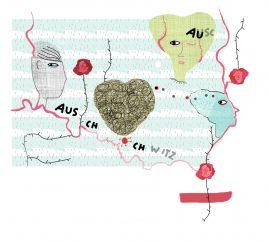 Toleransresa, illustration för tidningen Alfa av Kati Mets