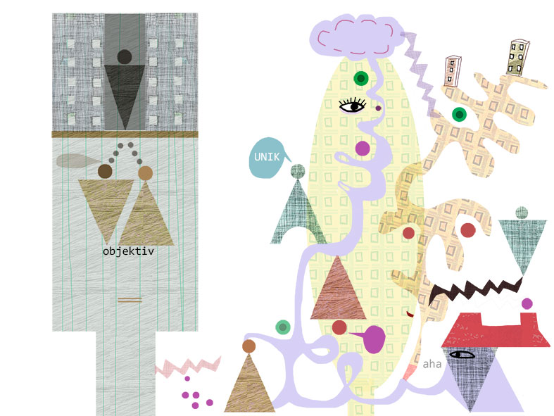 Fronesis - illustration för Arkitekten, av Kati Mets